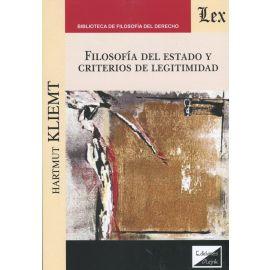 Filosofía del estado y criterios de legitimidad.