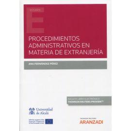 Procedimientos administrativos en materia de extranjería