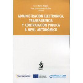 Administración electrónica, transparencia y contratación pública a nivel autonómico