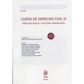 Curso de derecho civil, III 2020. Derechos reales y registral inmobiliario