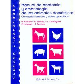 Manual de Anatomía y Embiología de los Animales Domésticos. Conceptos Básicos y Datos Aplicativos.