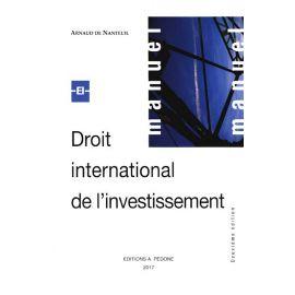 Droit Internacional de L' Investissement