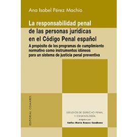 Responsabilidad Penal de las Personas Jurídicas en el Código Penal Español