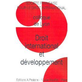 Droit international et développement