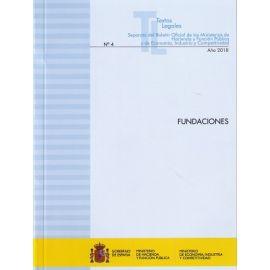 Fundaciones 2018. Separata del Boletín Oficial de los Ministerios de Hacienda y Función Pública y de Economi