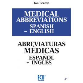 Medical Abbreviations Spanish - English Abreviaturas Médicas Español - Inglés