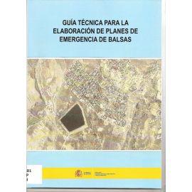 Guía Técnica para la Elaboración de Planes de Emergencia de Balsas