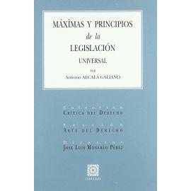 Máximas y Principios de la Legislación Universal