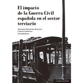 Impacto de la guerra civil española en el sector terciario
