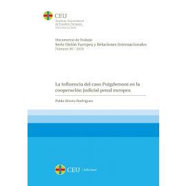 Influencia del caso Puigdemont en la cooperación judicial penal europea