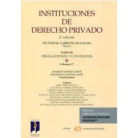 Instituciones de Derecho Privado. 03/02 Obligaciones y Contratos