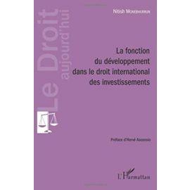 Fonction du développement dans le droit international des investissements
