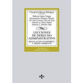 Lecciones de Derecho Administrativo III, 2018. Regulación Económica y Medio Ambiente