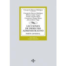Lecciones de Derecho Administrativo II. 2017 Parte General