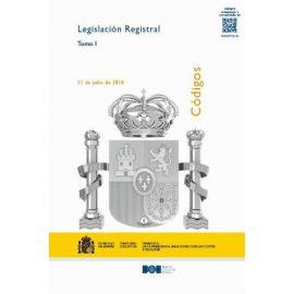 Legislación Registral 2 Tomos 2019 Totalmente Actualizado