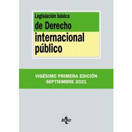 Legislación básica de Derecho Internacional Público 2021