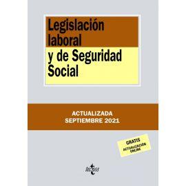 Legislación Laboral y de Seguridad Social 2021. Tecnos