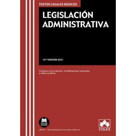 Legislación administrativa 2021