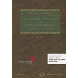 Legislación Hipotecaria y del Crédito Inmobiliario Tomo I y II (2019) LIBRO + EBOOK
