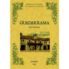 Guadarrama. Biblioteca de la provincia de Madrid. Crónica de sus pueblos