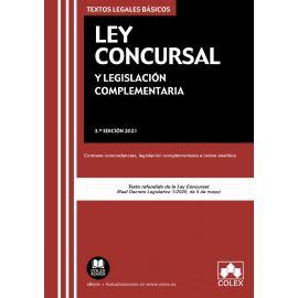 Ley Concursal y legislación complementaria 2021