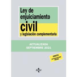 Ley de Enjuiciamiento Civil y legislación complementaria 2021. Tecnos