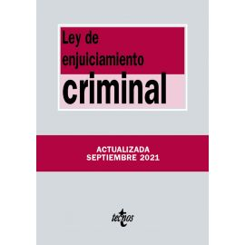 Ley de Enjuiciamiento Criminal 2021 Tecnos
