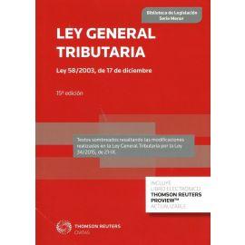Ley General Tributaria 2015.                                                                         Ley 58/2003 de 17 de diciembre