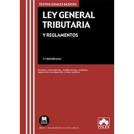 Ley General Tributaria y reglamentos 2021