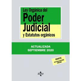 Ley Orgánica del Poder Judicial 2020 Tecnos