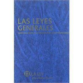 Leyes Generales. Incluye CD-ROM