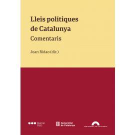 Lleis polítiques de Catalunya. Comentaris