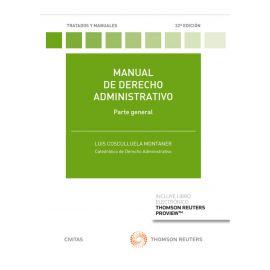 Manual de Derecho administrativo 2021