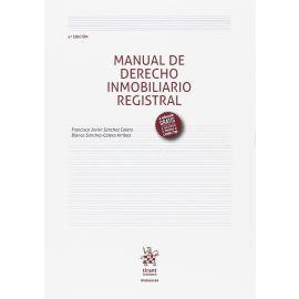 Manual de Derecho Inmobiliario Registral 2017