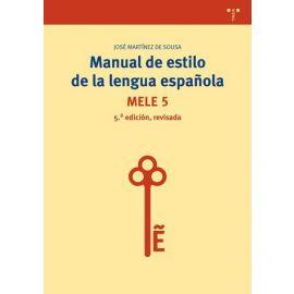 Manual de Estilo de la Lengua Española