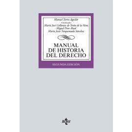 Manual de Historia del Derecho 2021 + Cuaderno de comentarios de texto histórico-jurídicos