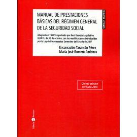 Manual de Prestaciones Básicas del Régimen General de la Seguridad Social 2018
