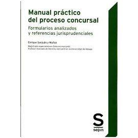 Manual práctico del proceso concursal