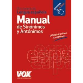 Manual de Sinónimos y Antónimos Diccionario de Lengua Española