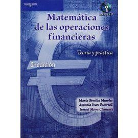Matemática de las Operaciones Financieras. Teoría y Práctica