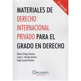 Materiales de derecho internacinal privado para el grado en derecho 2020