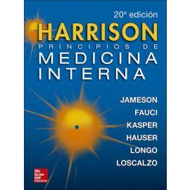 Harrison. Principios de Medicina Interna, 2 Tomos