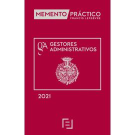 Memento Gestores administrativos 2021