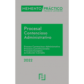 Memento Procesal Contencioso-Administrativo 2022