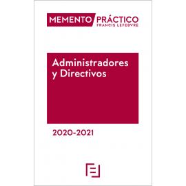 Memento administradores y directivos 2020-2021