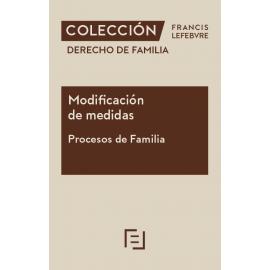 Modificación de medidas. Procesos de familia