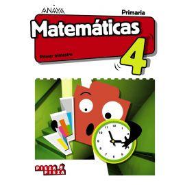 Matemáticas 4º Priamaria. Trimestres