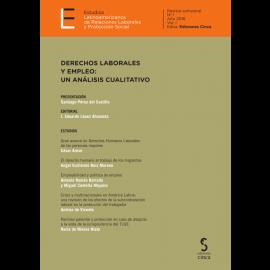 Estudios Latinoamericanos de Relaciones Laborales 2016                                               Protección Social Nº 1 y 2