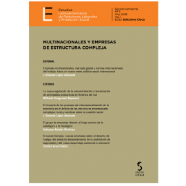 Estudios Latinoamericanos de Relaciones Laborales 2018                                               y protección social Nº  5 y 6