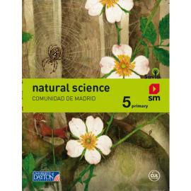Natural science. 5 Primary. Más Savia. Madrid